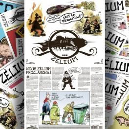 Quatrième de couverture, Zélium n°1, février 2011