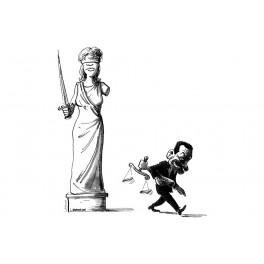 T-shirt Justice, bras cassé !