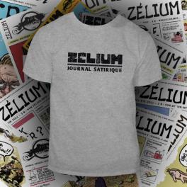 T-shirt gris chiné Zélium - unisexe