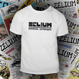 T-shirt blanc Zélium - unisexe