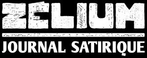 Logo_Zelium_Typo_JournalSatirique_Blanc_FondNoir_300px