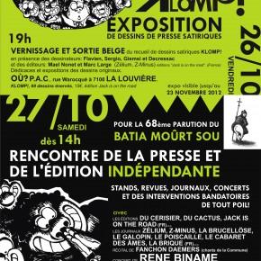 Week-end de la presse satirique et de l'édition indépendante (26 et 27 octobre 2012 à La Louvière et à Mons en Belgique)