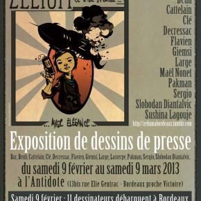 09-02-2013 à Bordeaux : journée et soirée de soutien à Zélium et Z Minus
