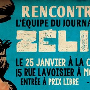 25 janvier 2014 : journée et soirée de soutien à Zélium à la Casa Poblano (Montreuil, 93)