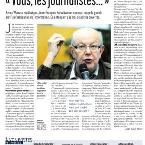 JF Kahn, Politis, Zélium et la presse libre