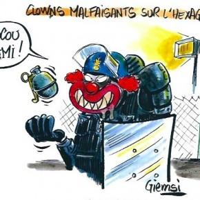 Scénographies émeutières