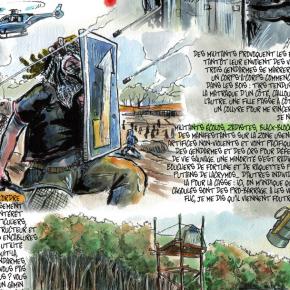 Météo morose sur la ZAD de Sivens : pluie de grenades annoncée