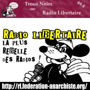 L'équipe de Zélium sur Radio Libertaire