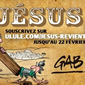 JÉSUS - La nouvelle BD de GAB !