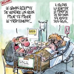 Le prix de la santé !