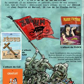 Zélium s'incruste à Angoulême du 26 au 29 janvier